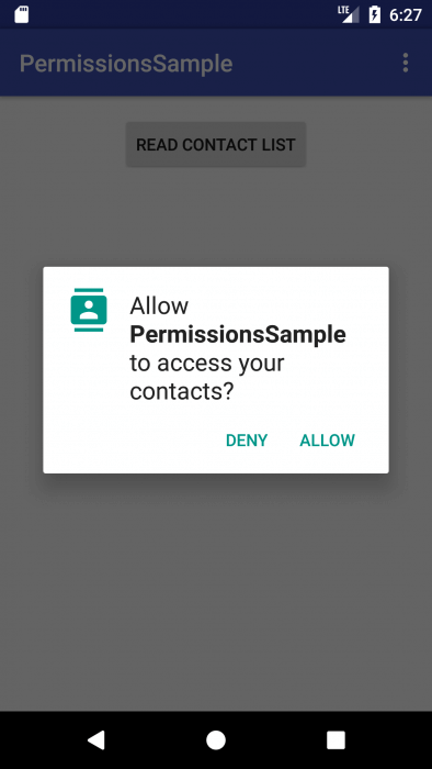 Android 6 0 permissions in defense and attack | Android Tools